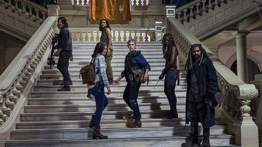 «The Walking Dead»: la 9a temporada arrenca amb nou líder i les primeres morts