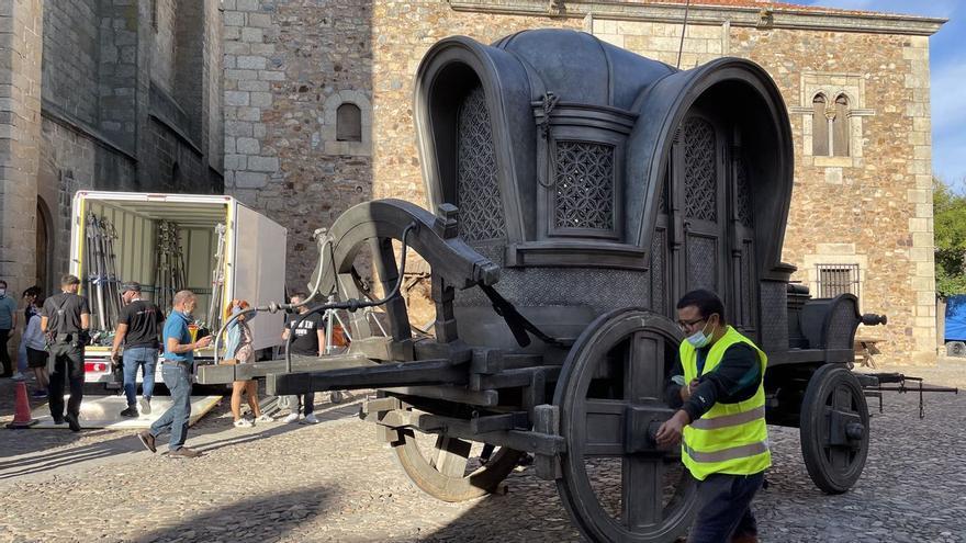 'Juego de tronos': Cáceres, en plena ebullición