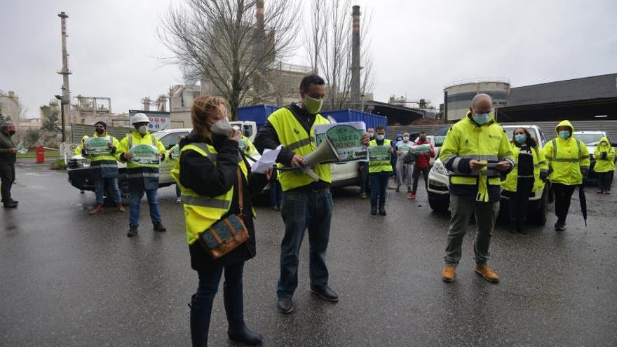"""CC OO intensifica las movilizaciones """"en defensa de los puestos de trabajo"""" de Ence"""