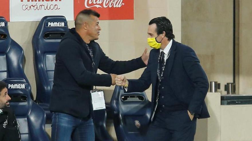 Almirón: «Es un buen empate, muy trabajado ante un rival complicado»