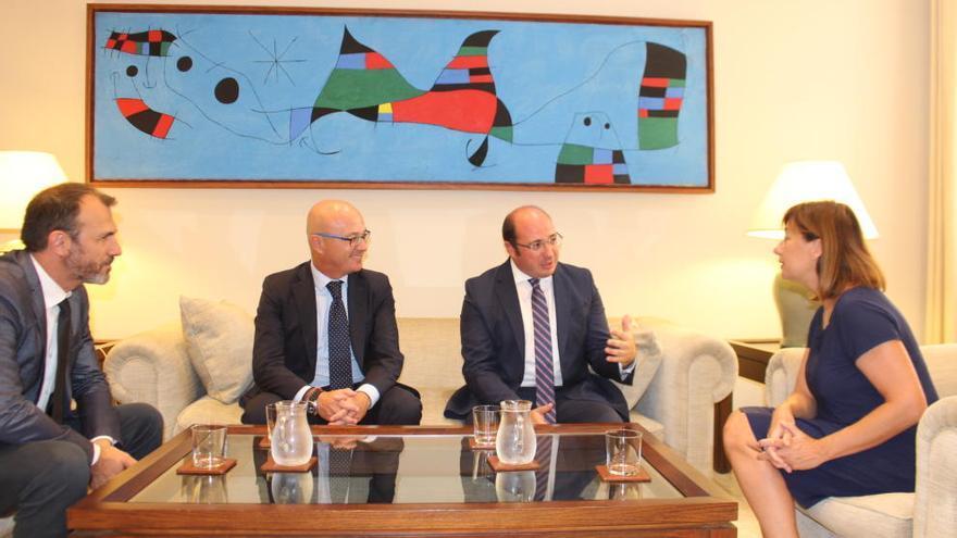 Murcia y Baleares se alían por la financiación y el Corredor Mediterráneo