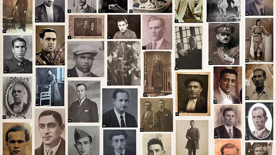 Represaliats a la Fossa 21 del Cementeri Paterna