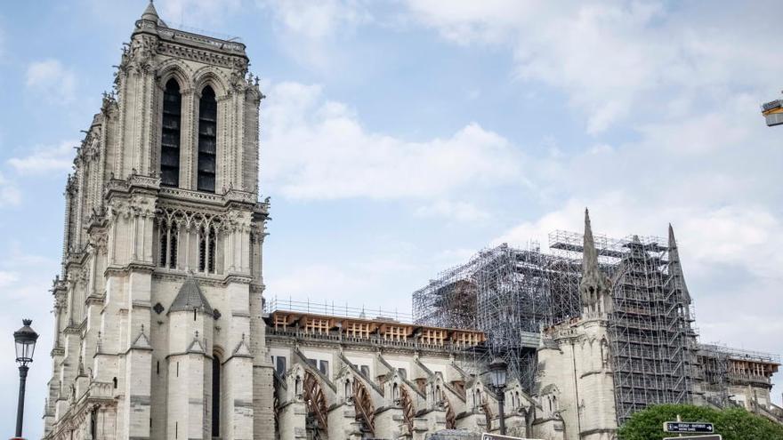 Un año de obstáculos frena la reconstrucción de Notre Dame