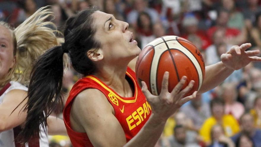 España se asegura el pase a cuartos ante Letonia