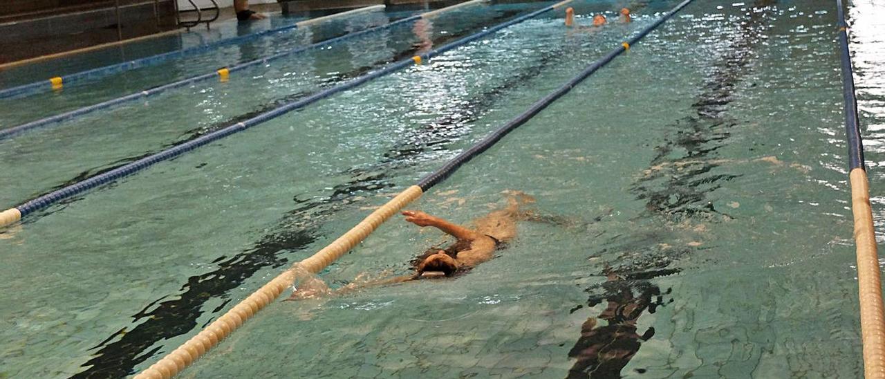 Instalaciones de la piscina Manuel Llaneza.