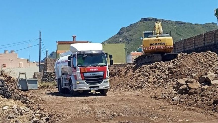 La Laguna suspende las obras de La Castellana por carecer de licencia