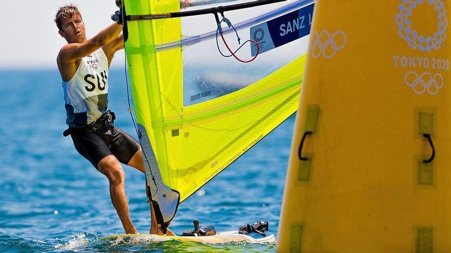 Mateo Sanz se va de los Juegos con un diploma olímpico
