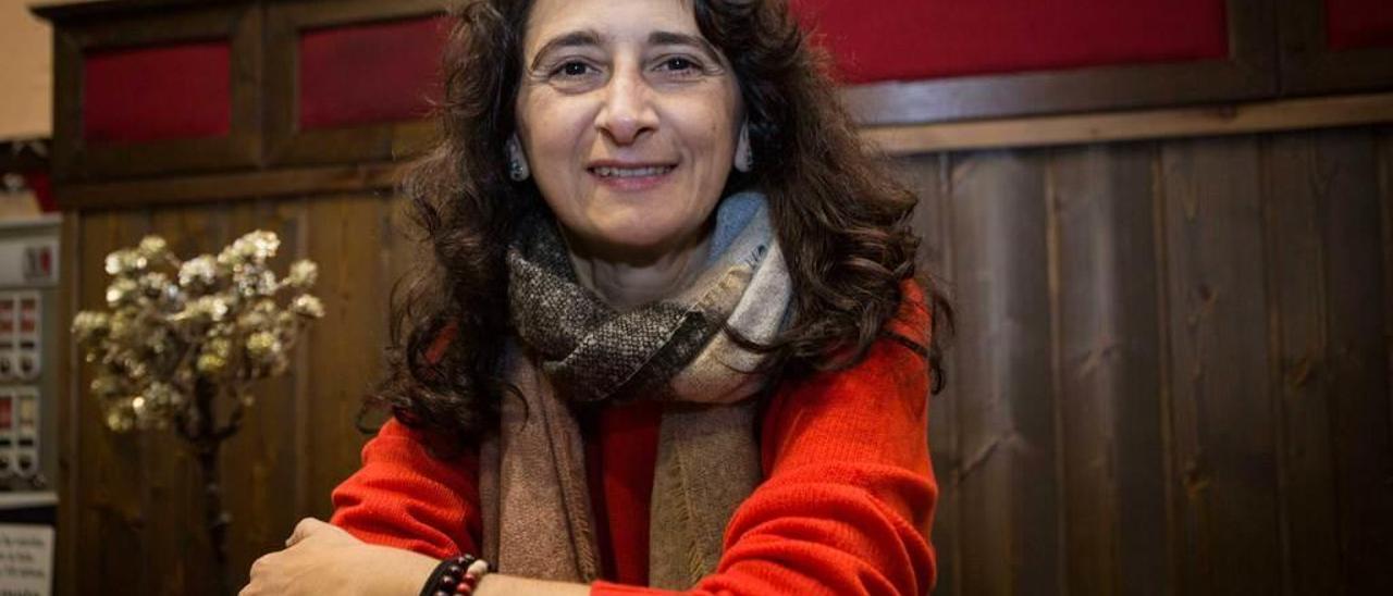 Noemí Alonso-Pinilla, el pasado viernes, en Oviedo.