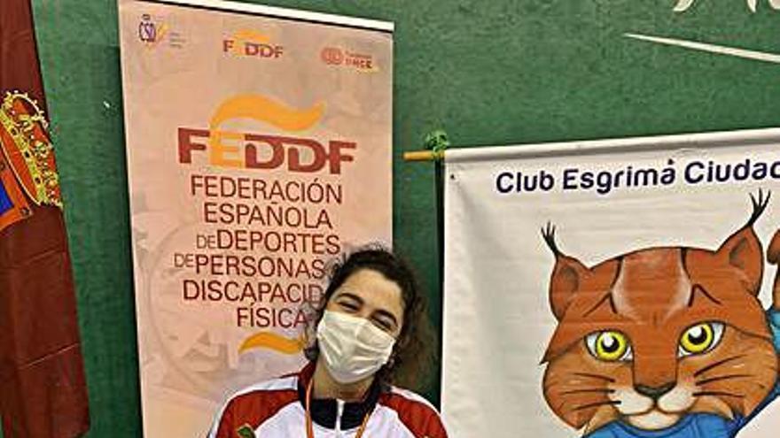 Judith Rodríguez conquista dos oros y un bronce en Ciudad Real