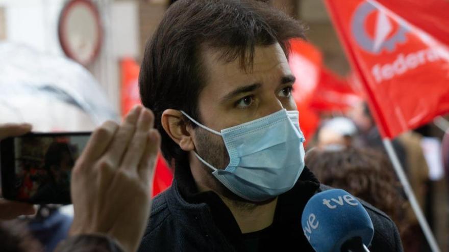 """Sánchez Serna: """"Las instituciones de la Región no son el cortijo del PP"""""""