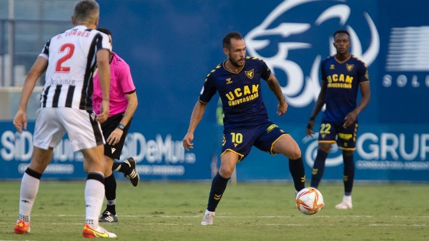 El UCAM Murcia vuelve a tropezar en la misma piedra (0-1)