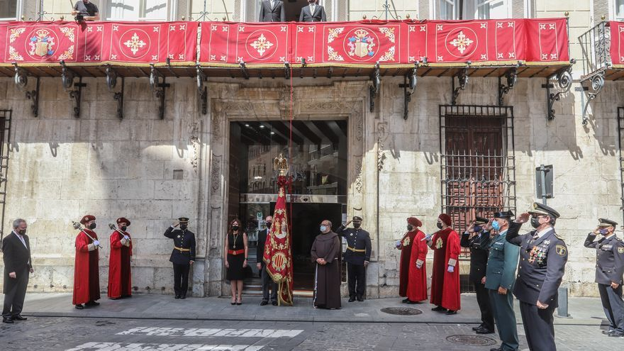 779 Aniversario de La Reconquista de Orihuela con la celebración institucional e histórica, sin público por el covid