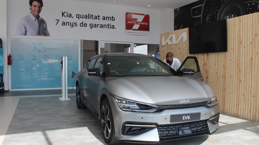 Texauto Motor presenta l'innovador Kia EV6, el model que redefineix la mobilitat elèctrica