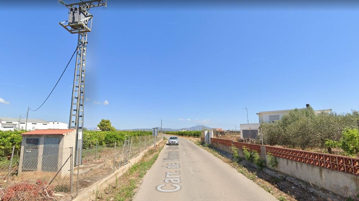 Imagen del Camino Viejo de Alcanar