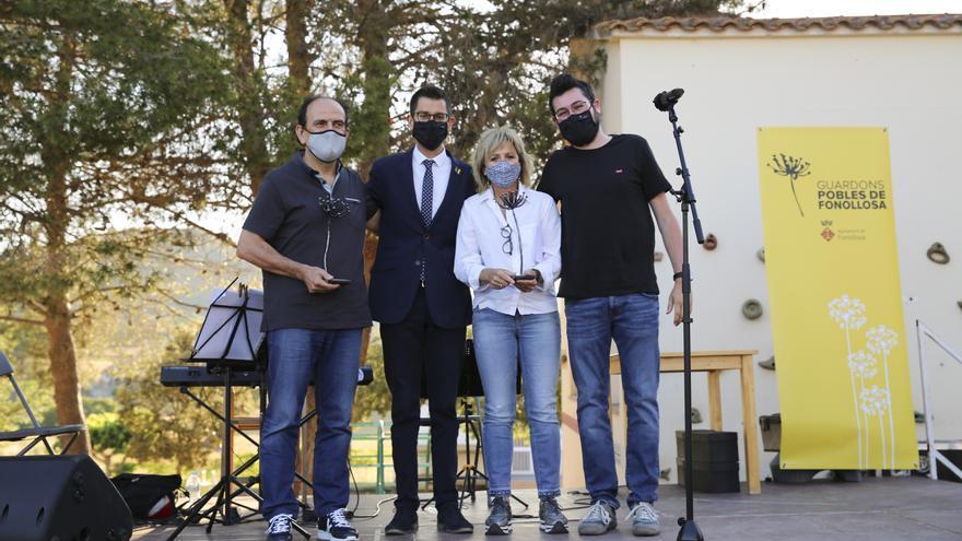 Fonollosa honora cinc conciutadans amb els segons guardons locals