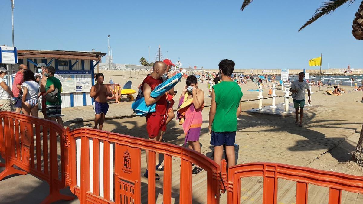 Cierran playas en Orpesa y Benicarló por el aforo