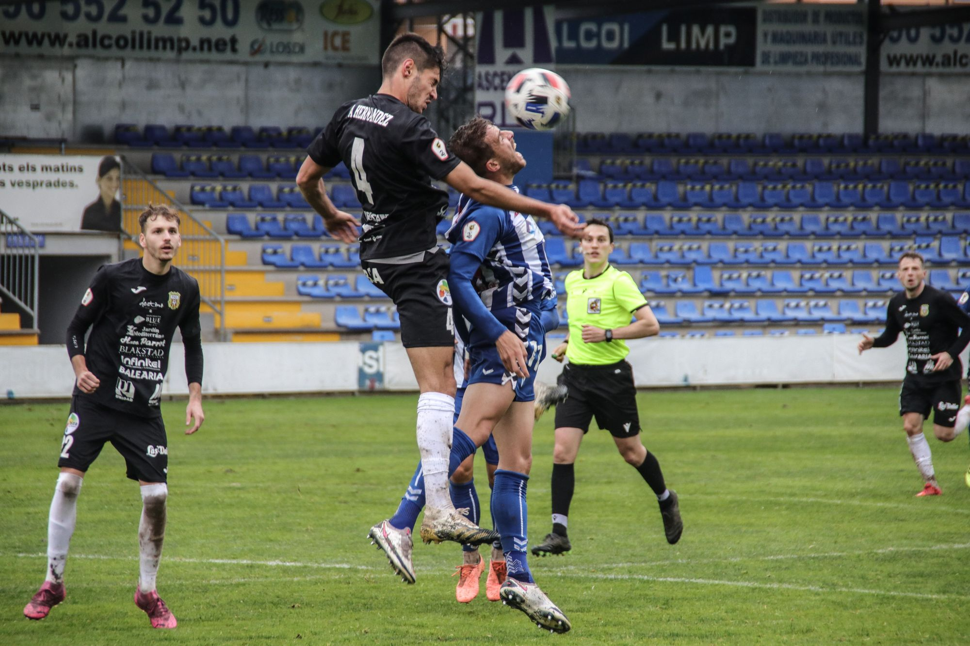 Alcoyano - Peña Deportiva: The images of the match
