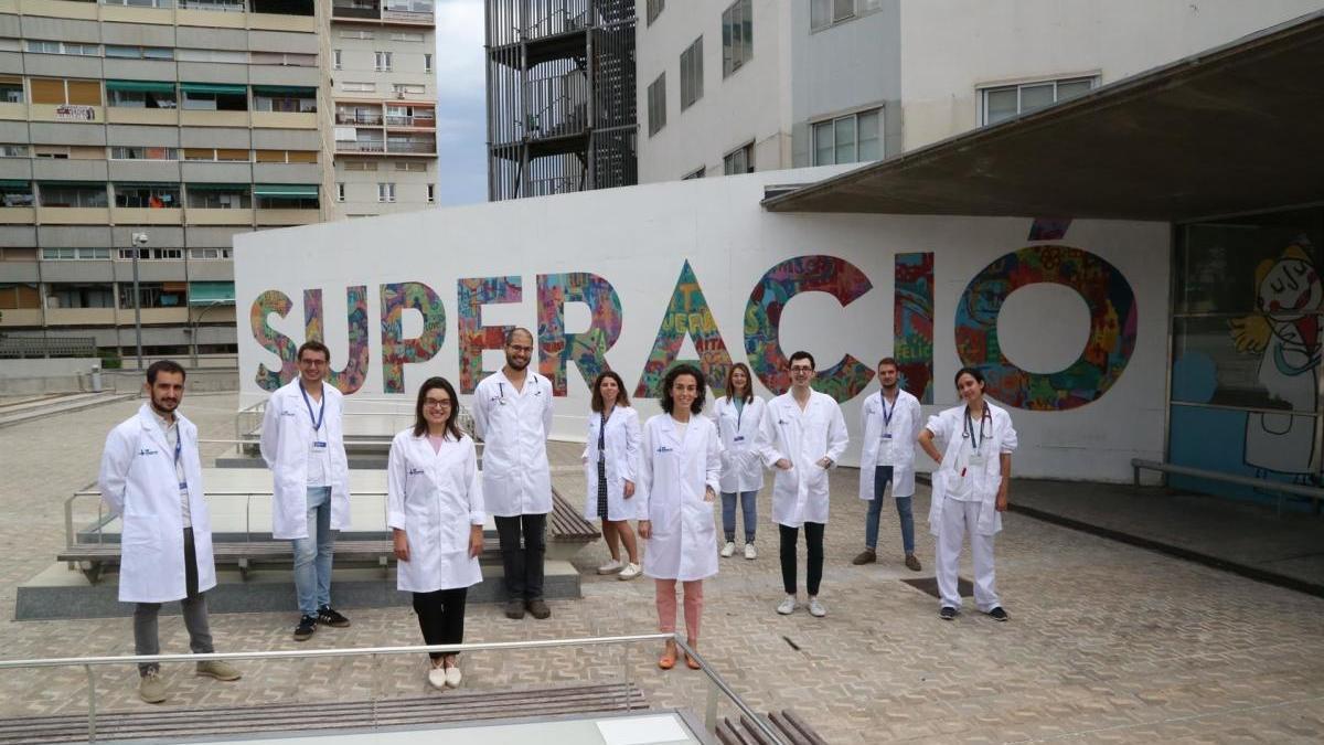 Equipo de investigación del hospital que ha liderado el estudio.