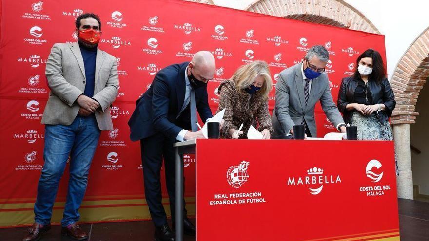 Marbella, sede de concentraciones de las selecciones españolas de fútbol de categorías inferiores