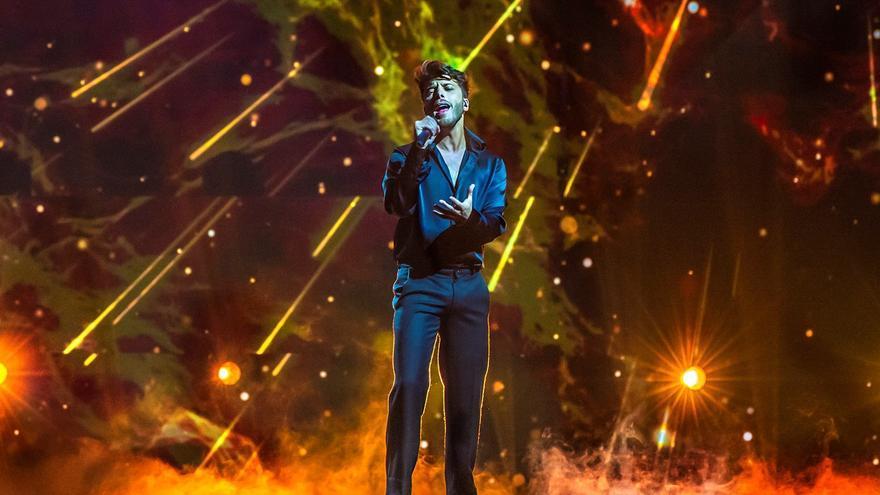 """Blas Cantó decepciona con su puesta en escena para Eurovisión: """"La nada más absoluta"""""""