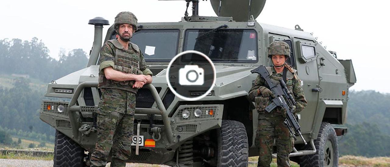 La huella militar gallega en Afganistán