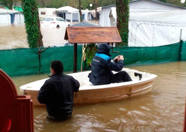 Inundaciones en Sada