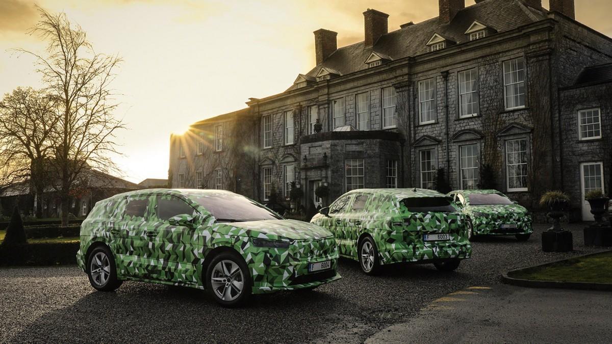 Skoda muestra su SUV eléctrico Enyaq iV y anuncia detalles mecánicos
