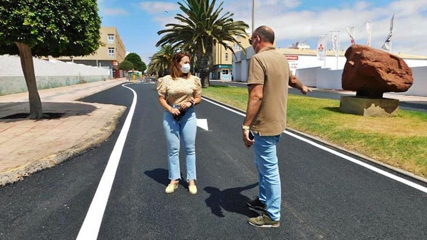 El Ayuntamiento de Puerto del Rosario tilda de chapuza la obra de la avenida Juan de Bethencourt