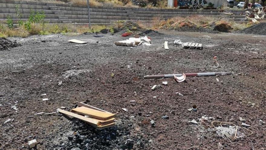 Las obras del polideportivo de San Andrés se retomarán la última semana de junio