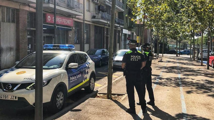 La policia de Berga acumula més de 2.300 serveis des de principi d'any