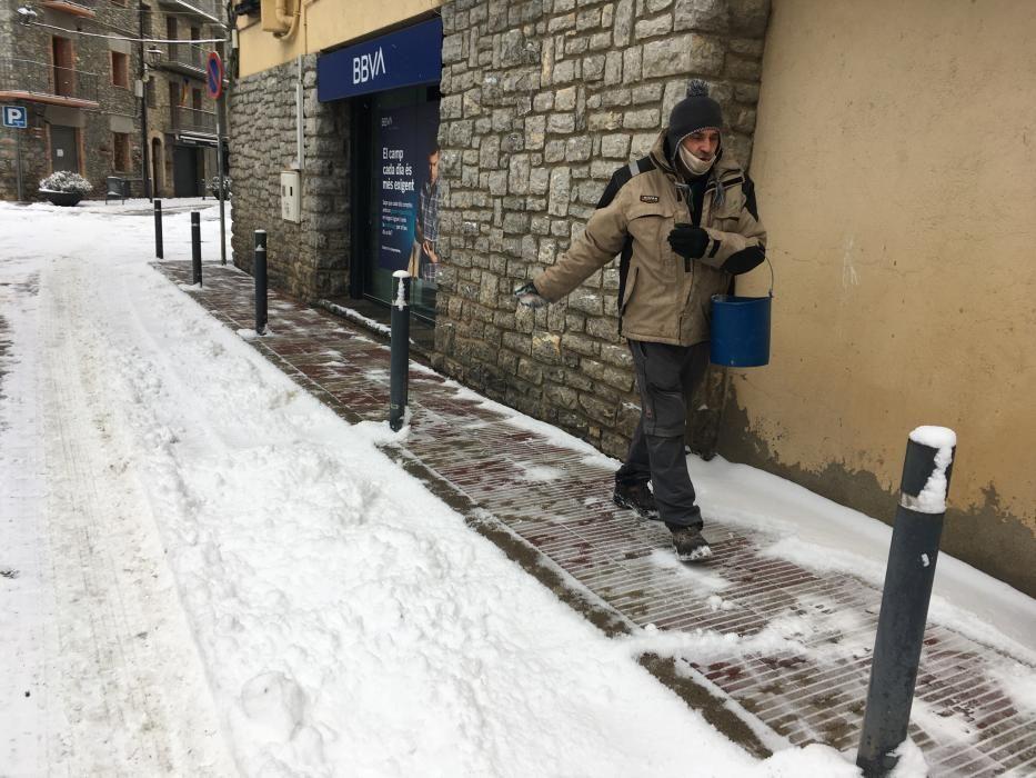 Bellver de Cerdanya (8cm de neu)