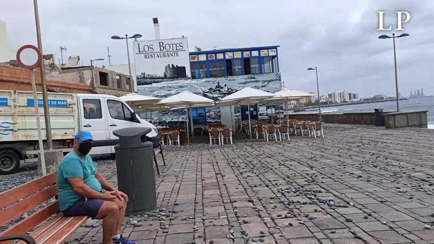 El barrio de San Cristóbal después del temporal