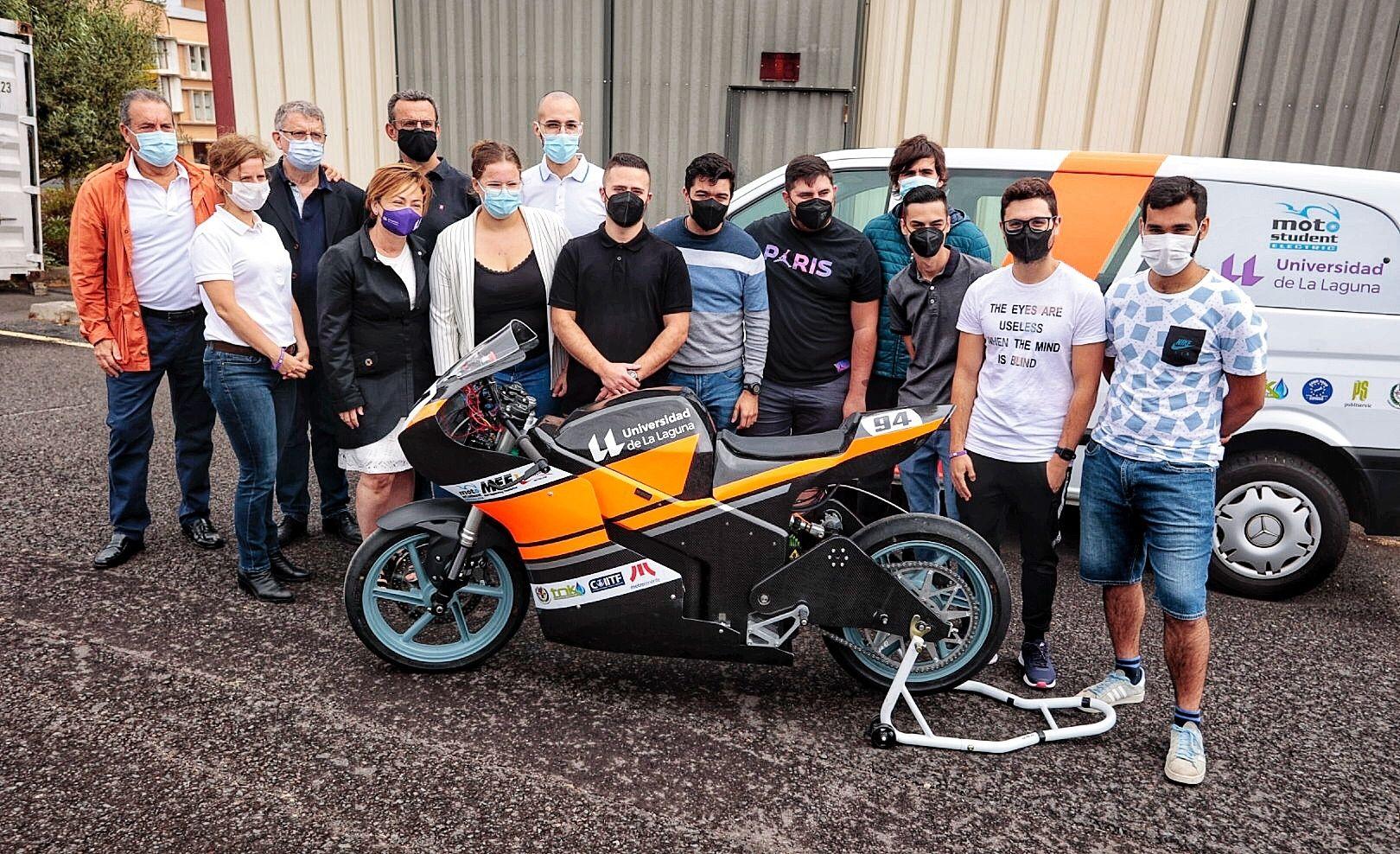 Proyecto MotoStudent de la ULL