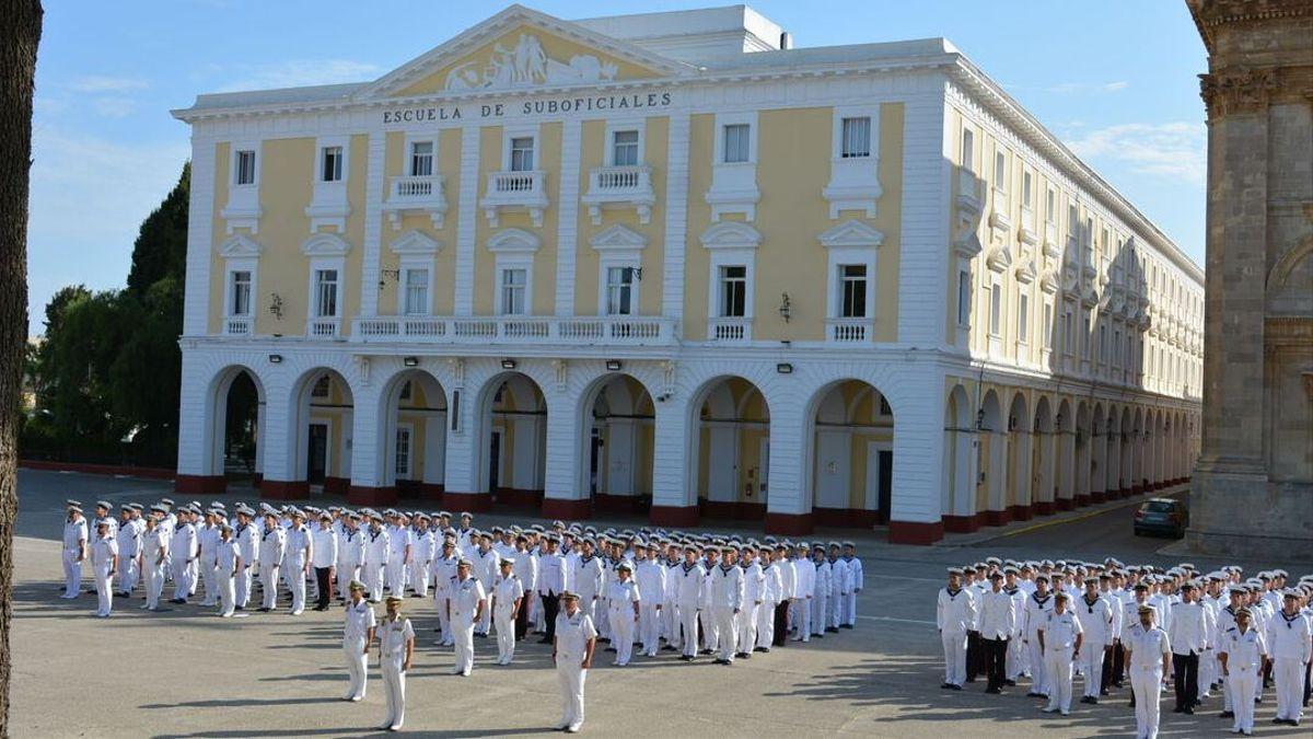 Imatge d'arxiu de l'Escola Militar de San Fernando Cadis