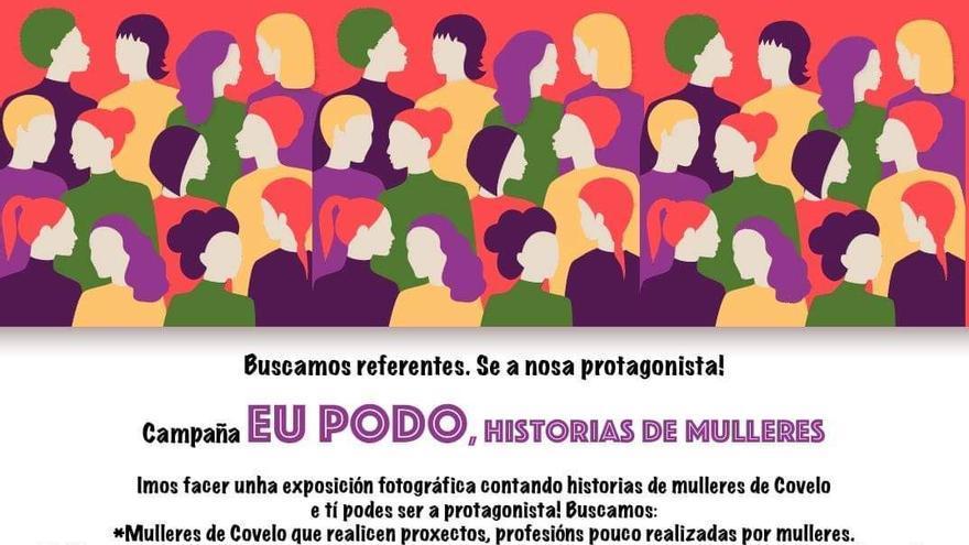 Campaña EU PODO, Historias de Mulleres Exposición fotográfica contando historias..