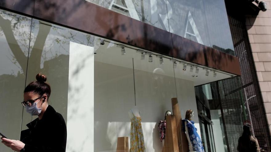 Las ventas de Inditex en España cayeron un 40,8% hasta junio por el virus