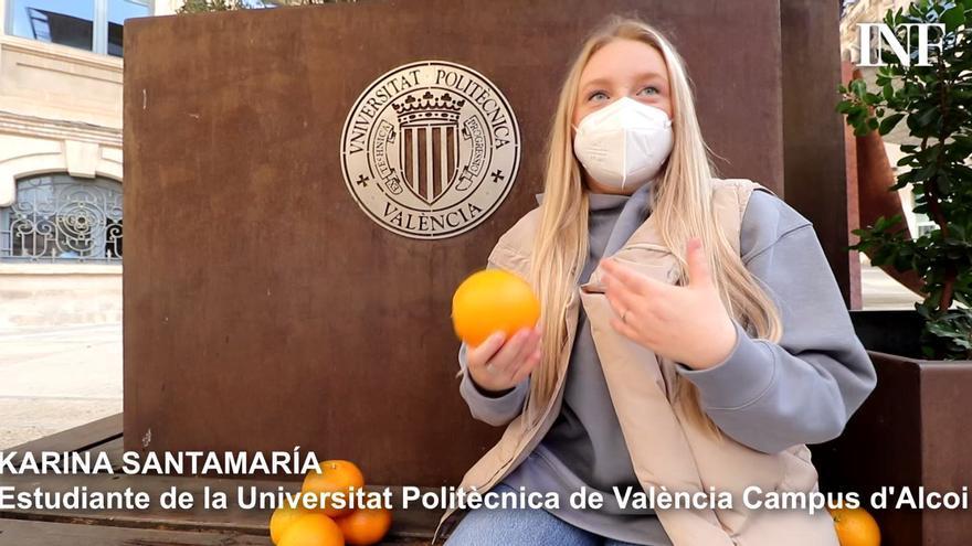 Limpiar la casa con pieles de naranja