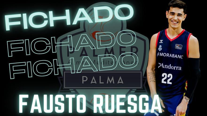 Fausto Ruesga, segunda incorporación del Palmer Palma