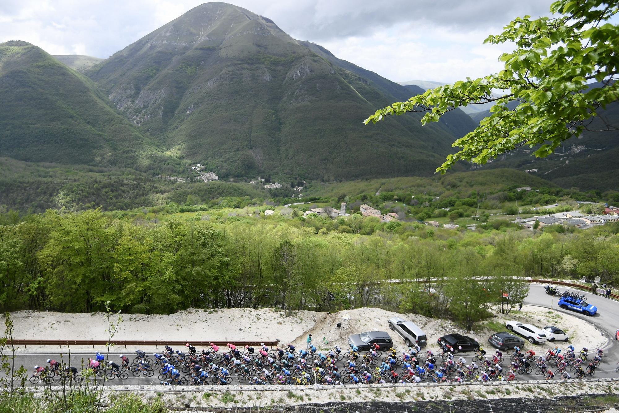Giro de Italia | Grotte di Frasassi - Ascoli Piceno