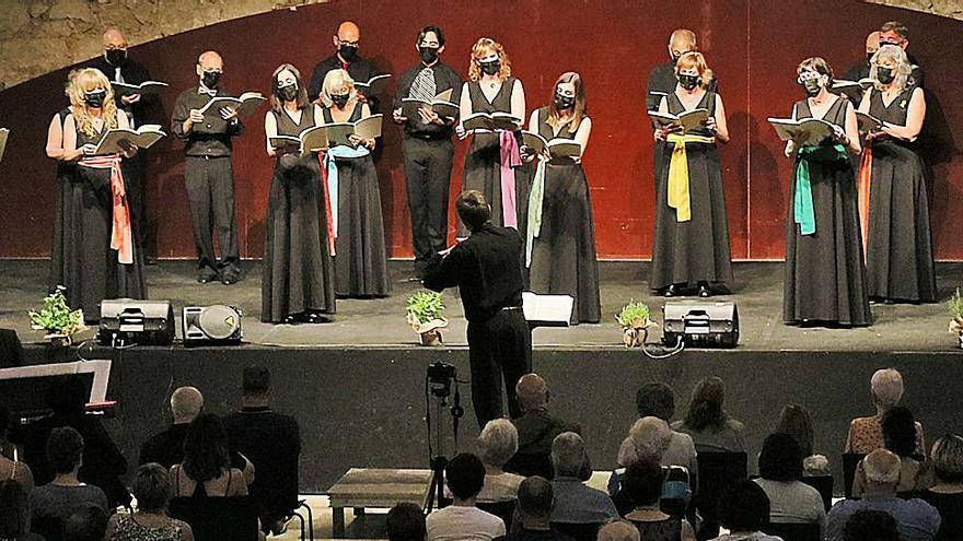 Èxit de públic en l'homenatge de l'Orfeó Manresà a Toldrà