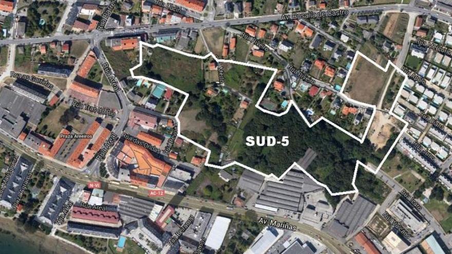 Luz verde a la Ciudad Jardín de Icaria IV con 290 viviendas y cuatro áreas terciarias