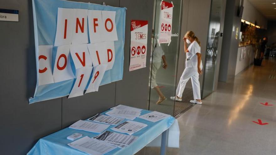 La zona sanitaria de Vila registra el pico más alto de contagios de la cuarta ola en Ibiza
