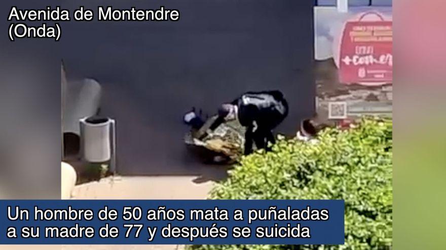 Un hombre mata a puñaladas a su madre y después se suicida en Castellón
