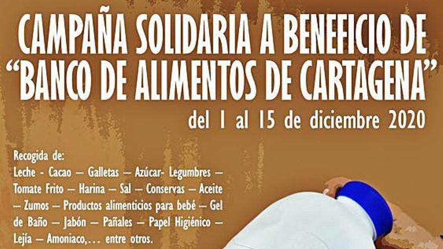 Lhicarsa y FCC Medio Ambiente organizan una recogida de alimentos en Cartagena