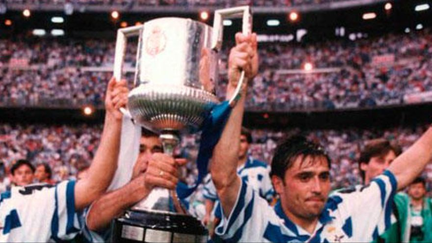 La final de Copa de 1995, esta noche en Teledeporte