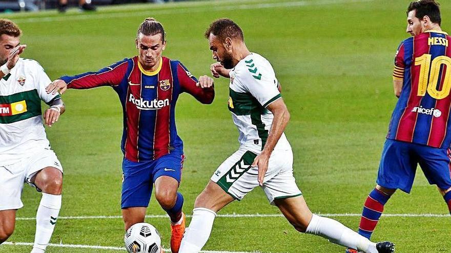 Un gol de Griezmann dona el Gamper menys lluït al Barça