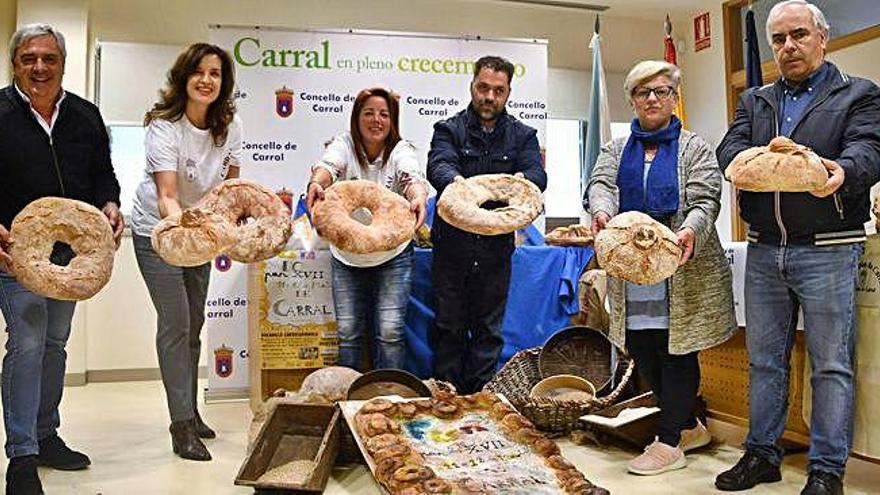 Carral despachará más de 7.000 'bocatas' cardiosaludables en la Festa do Pan