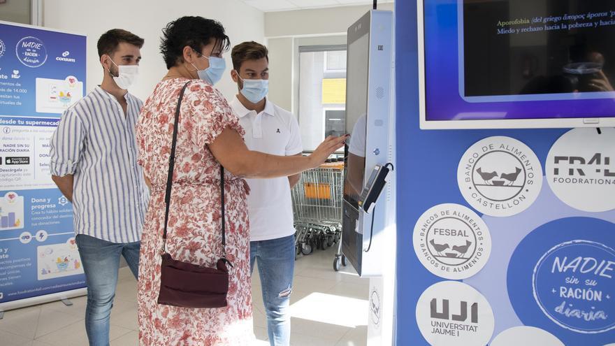 Diputación impulsa la expansión de la donación virtual de alimentos 'Nadie sin su ración diaria' por Castellón
