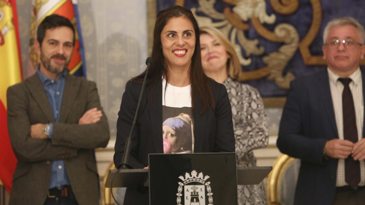 La alicantina Josi Alvarado