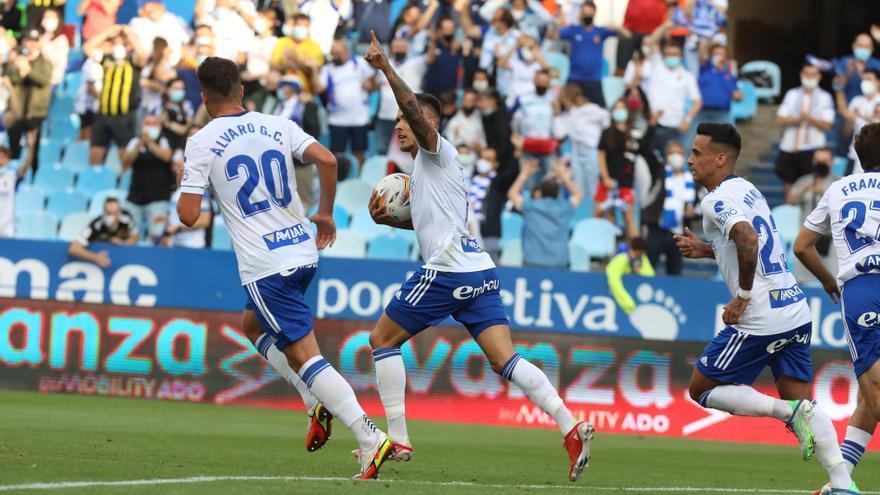 La radiografía de los goles del Zaragoza y los goles que faltan